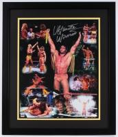 """Ultimate Warrior"" Signed 22"" x 26"" Custom Framed Photo Display (JSA COA)"