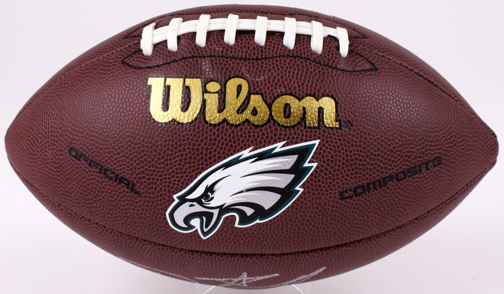 a2a58a96d Ricky Watters Signed Eagles Logo Football (JSA COA) at PristineAuction.com