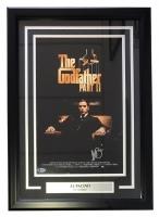 "Al Pacino Signed ""The Godfather Part II"" 17"" x 24"" Custom Framed Movie Poster (Beckett Hologram)"