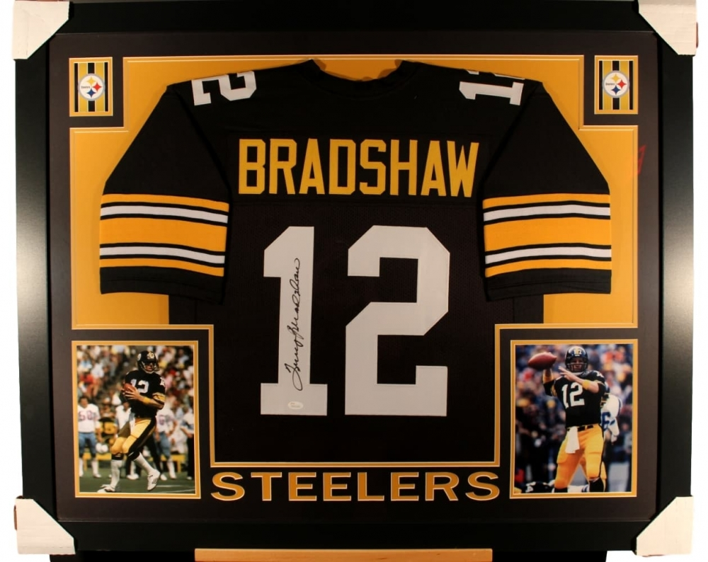 6d96f1b5127 Terry Bradshaw Signed Steelers 35