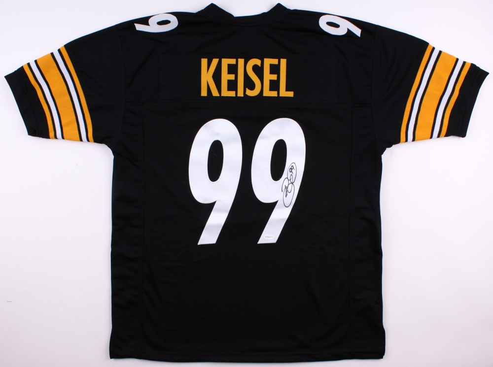 89361840f1c Brett Keisel Signed Steelers Jersey (TSE COA) at PristineAuction.com