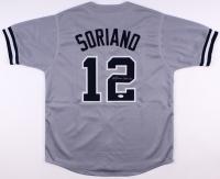 Alfonso Soriano Signed Yankess Jersey (JSA COA)