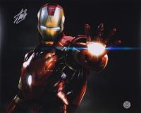"Stan Lee Signed ""Iron Man"" 16x20 Photo (Stan Lee Hologram)"
