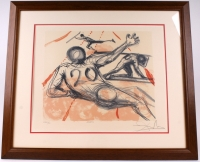 "Salvador Dali Signed ""Sports"" 28x33 LE 1973 Custom Framed Lithograph (JSA ALOA)"