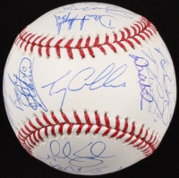 2015 Mets Official World Series Baseball Team Signed by (27) with Matt Harvey, Jacob deGrom, Noah Syndergaard, David Wright (PSA LOA)