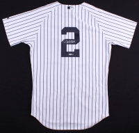 Derek Jeter Signed Yankees Authentic Majestic Jersey (Steiner COA & MLB)