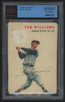 1954 Wilson Franks #20 Ted Williams (BVG Authentic) (Altered)