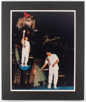 "Muhammad Ali Signed ""1996 Olympics"" 20x24 Custom Matted Photo Display (JSA ALOA) at PristineAuction.com"