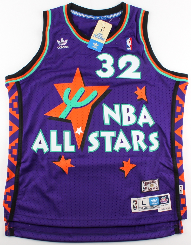 29bed7a656b ireland nba 1996 all star 32 shaquille oneal green swingman throwback jersey  fcc61 d8337; new zealand best price shaquille oneal signed 1995 all star ...