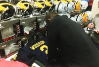 Charles Woodson Signed Michigan Wolverines Jersey Inscribed