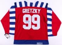 Wayne Gretzky Signed Vintage All Star CCM Captains Jersey (JSA LOA)