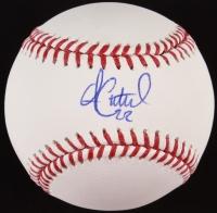 Andrew McCutchen Signed OML Baseball (MLB)