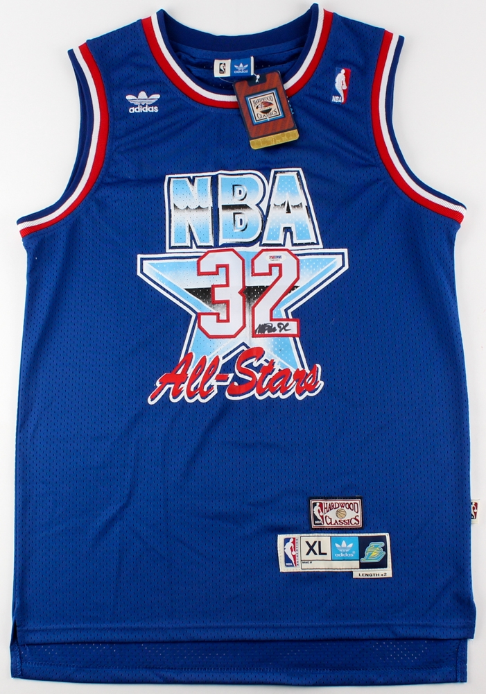 89bd0d9fc Magic Johnson Signed 1992 NBA All-Star Jersey (PSA Hologram) at  PristineAuction.