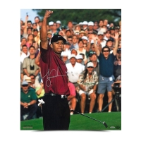 "Tiger Woods Signed ""2001 Masters"" 20x24 Photo (UDA COA)"