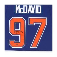 Connor McDavid Signed Edmonton Oilers Captain Jersey (UDA COA) at PristineAuction.com