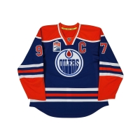Connor McDavid Signed Edmonton Oilers Captain Jersey (UDA COA) at PristineAuction.com
