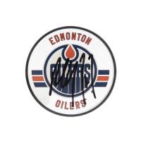 Paul Coffey Signed Edmonton Oilers Acrylic Hockey Puck (UDA COA)