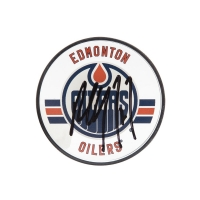 Paul Coffey Signed Edmonton Oilers Acrylic Hockey Puck (UDA COA) at PristineAuction.com