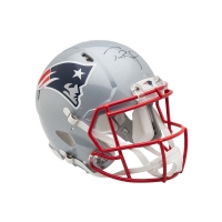 Tom Brady Signed Patriots Full-Size Authentic Pro-Line Helmet  (UDA COA)
