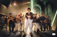 "Alien 11"" x 17"" Photo Signed By (4) with Bill Paxton, John Hurt, Tom Skerritt & Ricco Ross (JSA COA)"