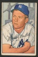 1952 Bowman #101 Mickey Mantle