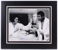 """Muhammad Ali Signed 27.5"""" x 23.5"""" Custom Framed Photo (PSA LOA)"""