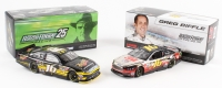 Lot of (2) Greg Biffle LE Ford Fusion NASCAR Custom 1:24 Die Cast Cars with (1) 2012 Meguiars & (1) Signed 2013 Give Kids A Smile (Action COA)