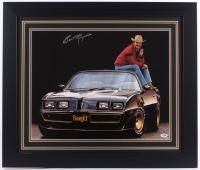 "Burt Reynolds Signed ""Smokey and the Bandit"" 27.5"" x 23.5"" Custom Framed Photo (PSA COA)"