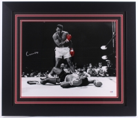 "Cassius Clay ""Muhammad Ali"" Signed 27.5"" x 23.5"" Custom Framed Photo (PSA LOA)"