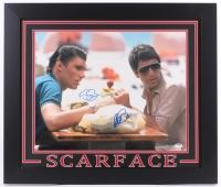 "Al Pacino & Steven Bauer Signed ""Scarface"" 27.5"" x 23.5"" Custom Framed Photo (PSA COA)"
