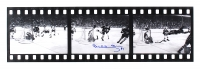 "Bobby Orr Signed Bruins ""The Flying Goal"" 3-Image Filmstrip 26"" x 8"" Photo (Orr COA) at PristineAuction.com"