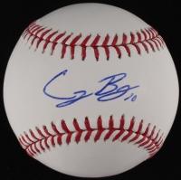 Cody Bellinger Signed OML Baseball (JSA COA)