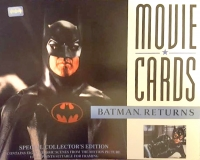 Complete Set of (8) Batman Returns 1992 Special Collector's Edition Movie Cards (Batman Hologram)