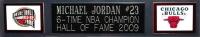 "Michael Jordan Signed Bulls 35"" x 43"" Custom Framed Jersey (UDA COA) at PristineAuction.com"