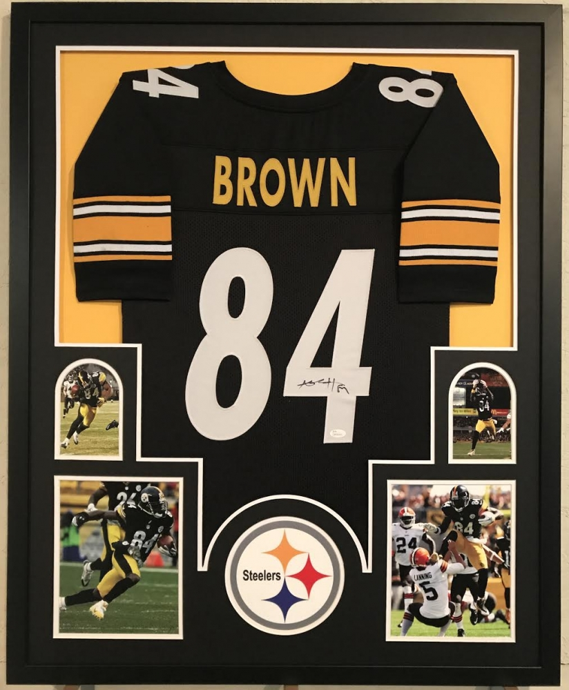 Antonio Brown Signed Steelers 35