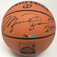 "Michael Jordan Signed LE 50th Anniversary HOF Official NBA Game Ball Inscribed ""HOF 2009"" (UDA COA)"