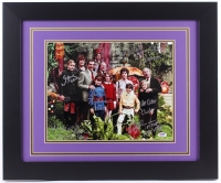 """""""Willy Wonka & the Chocolate Factory"""" 23.5"""" x 19.5"""" Custom Framed Photo Signed by (6) with Gene Wilder, Peter Ostrum with Inscriptions (PSA LOA)"""