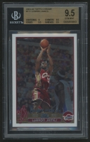 2003-04 Topps Chrome #111 LeBron James RC (BGS 9.5)