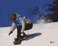 Lindsey Jacobellis Signed 8x10 Photo (Beckett COA)