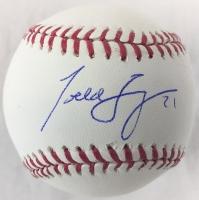 Todd Frazier Signed OML Baseball (Beckett COA)