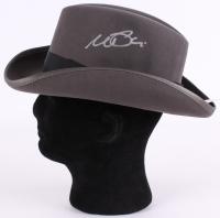 "Al Pacino Signed Authentic ""The Godfather"" Grey Fedora Hat (PSA COA)"