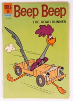 "Vintage 1962 ""Beep Beep: The Road Runner"" Issue #13 Dell Comic Book"