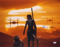 """Daisy Ridley Signed """"Star Wars: The Force Awakens"""" 16x20 Photo (PSA COA)"""