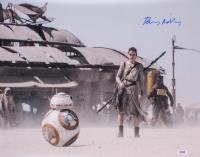 "Daisy Ridley Signed Rey ""Star Wars: The Force Awakens"" 16x20 Photo (PSA COA)"