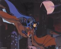 "1993 DC Comics Batman The Animated Series ""Batman vs. Man-Bat"" Limited Edition 11x14 Zanart Movie Card"