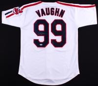 "Charlie Sheen Signed ""Major League"" Indians ""Vaughn"" Jersey (PSA COA)"