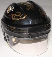 Nick Bonino, Carl Hagelin & Phil Kessel Signed Penguins Mini-Helmet (TSE COA)