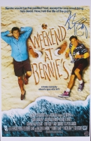 """Andrew McCarthy Signed """"Weekend at Bernie's"""" 11x17 Poster (Legends COA)"""