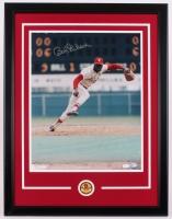 "Bob Gibson Signed Cardinals 22.5"" x 29.5"" Custom Framed Photo Display (JSA Hologram)"