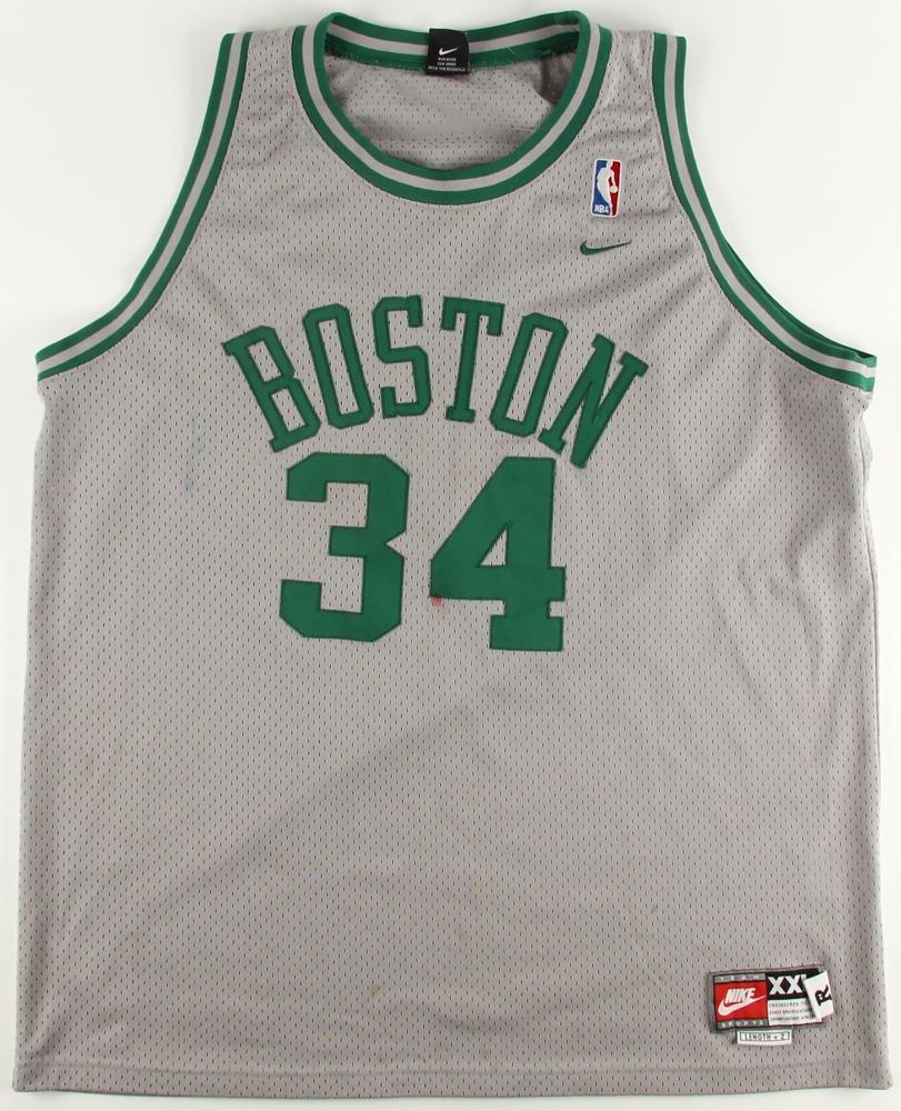 aa1fd06f Paul Pierce Signed Boston Celtics Jersey (JSA COA) at PristineAuction.com